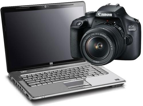 Software Canon EOS 4000D Upgrade