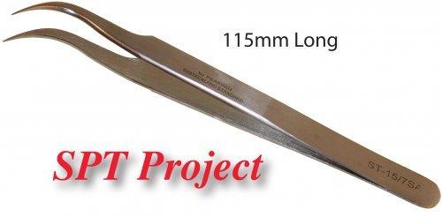 ST-15 Fine Curved Tip Tweezers
