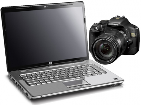 Software Canon EOS T2i 550D Essential