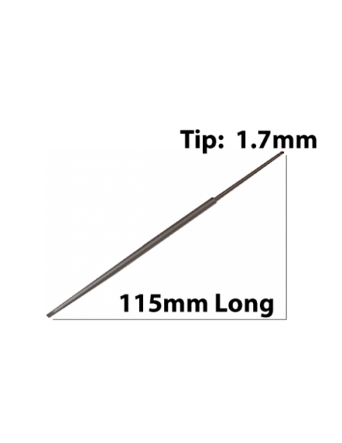 115mm Long x 1.7mm Tip, Screwdriver Blade