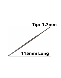 115mm Long x 1.7mm Tip, Screwdriver Blade