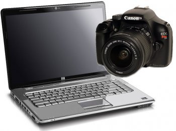 Software Canon EOS T3 1100D Essential